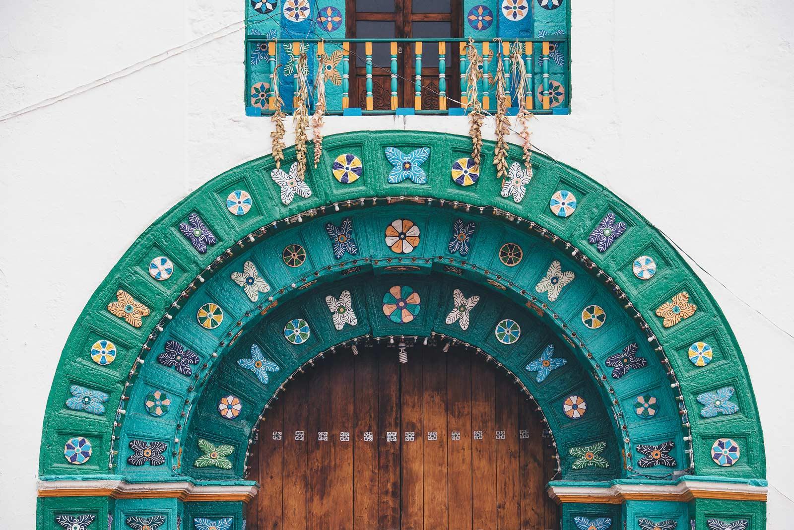 Eglise de San Juan de Chamula, Chiapas, Mexiqu