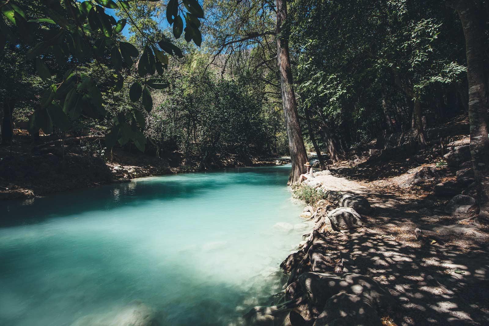 Cascades El Chiflon, Chiapas, Mexique