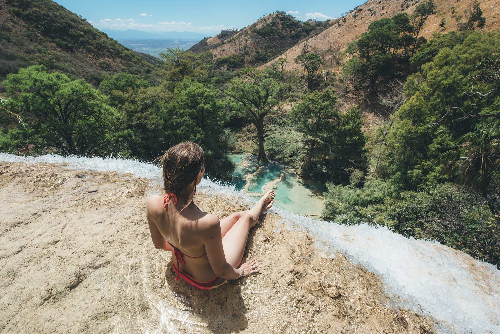 Canyoning Las 3 Tzimorelas, Chiapas, Mexique