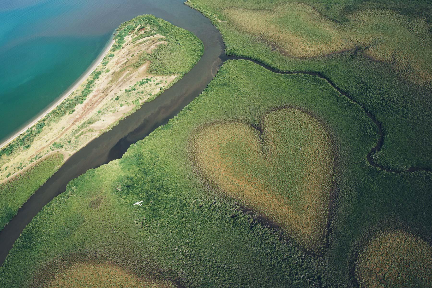 Coeur de Voh, Nouvelle Calédonie