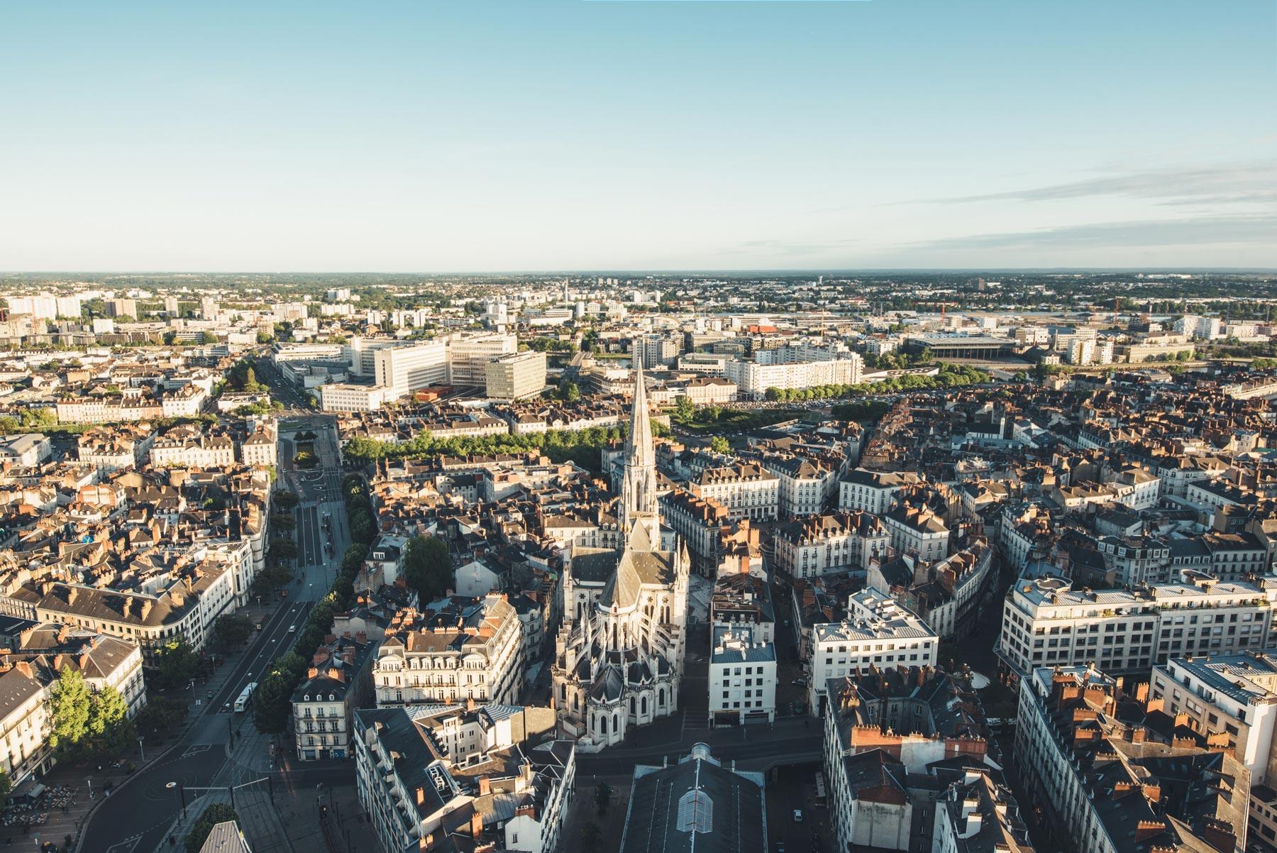 Nantes, Vue depuis le Nid