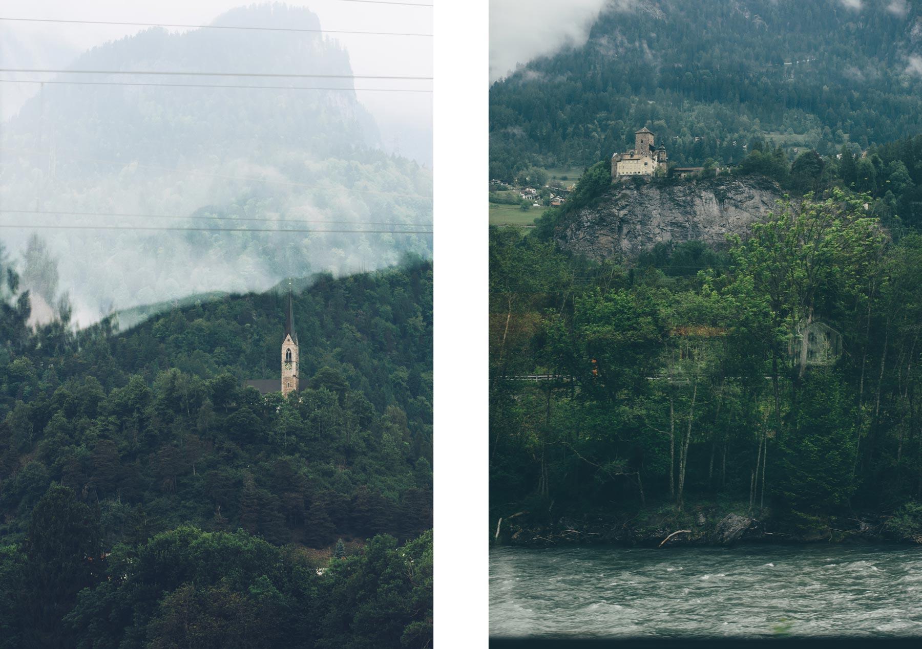 La Suisse à bord du Bernina Express