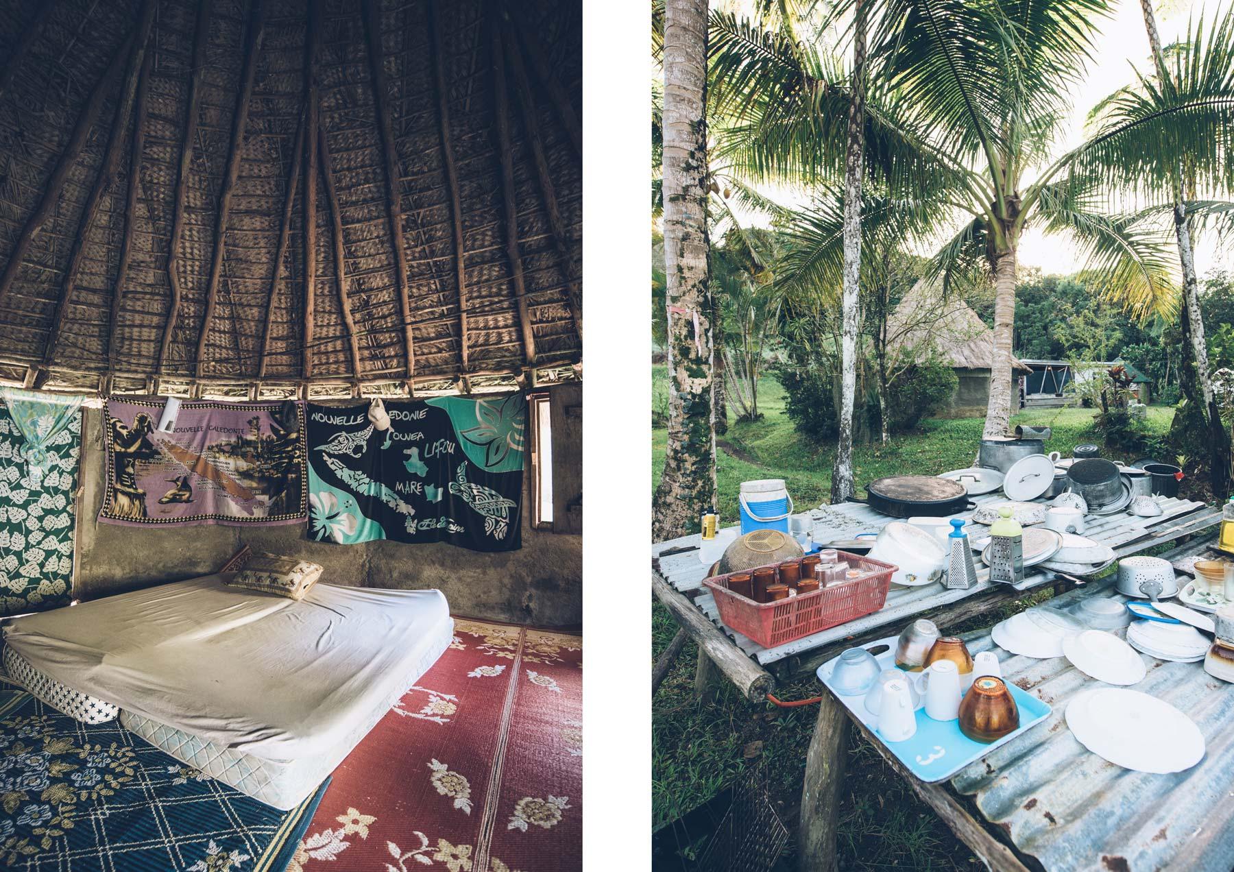 Nuit en Tribu, Chez Hélène, Tchamba, Nouvelle Calédonie