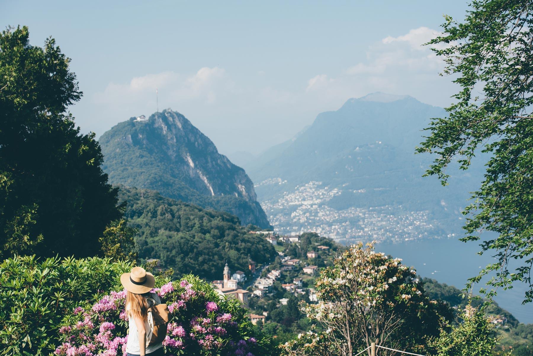 Parco San Grato, Lugano, Suisse