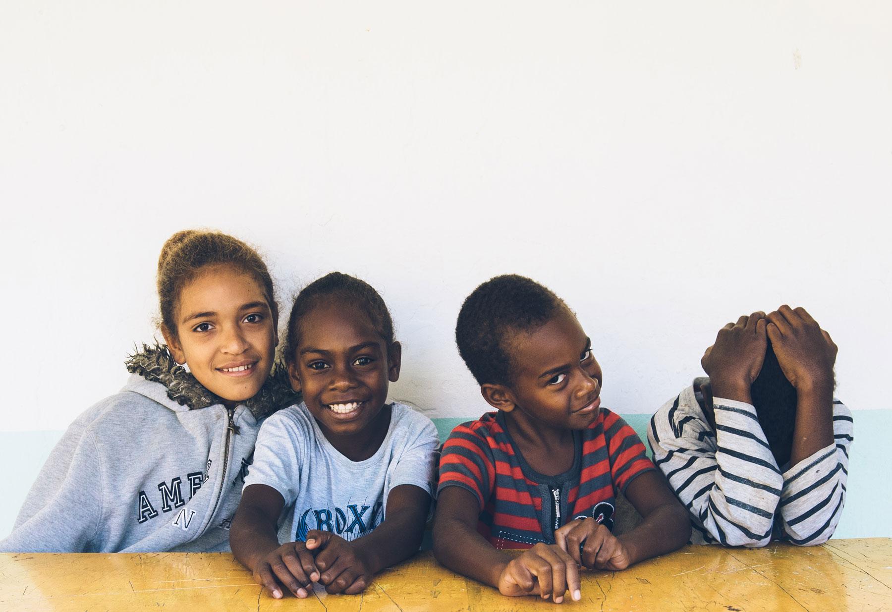 Ecole de Tchamba, Nouvelle Calédonie