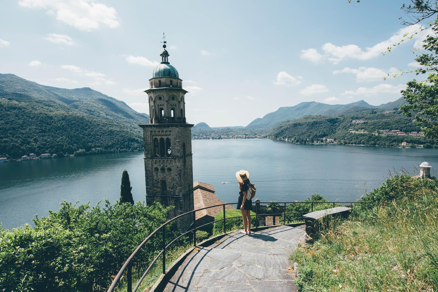 Morcote, Un des plus beau village de Suisse