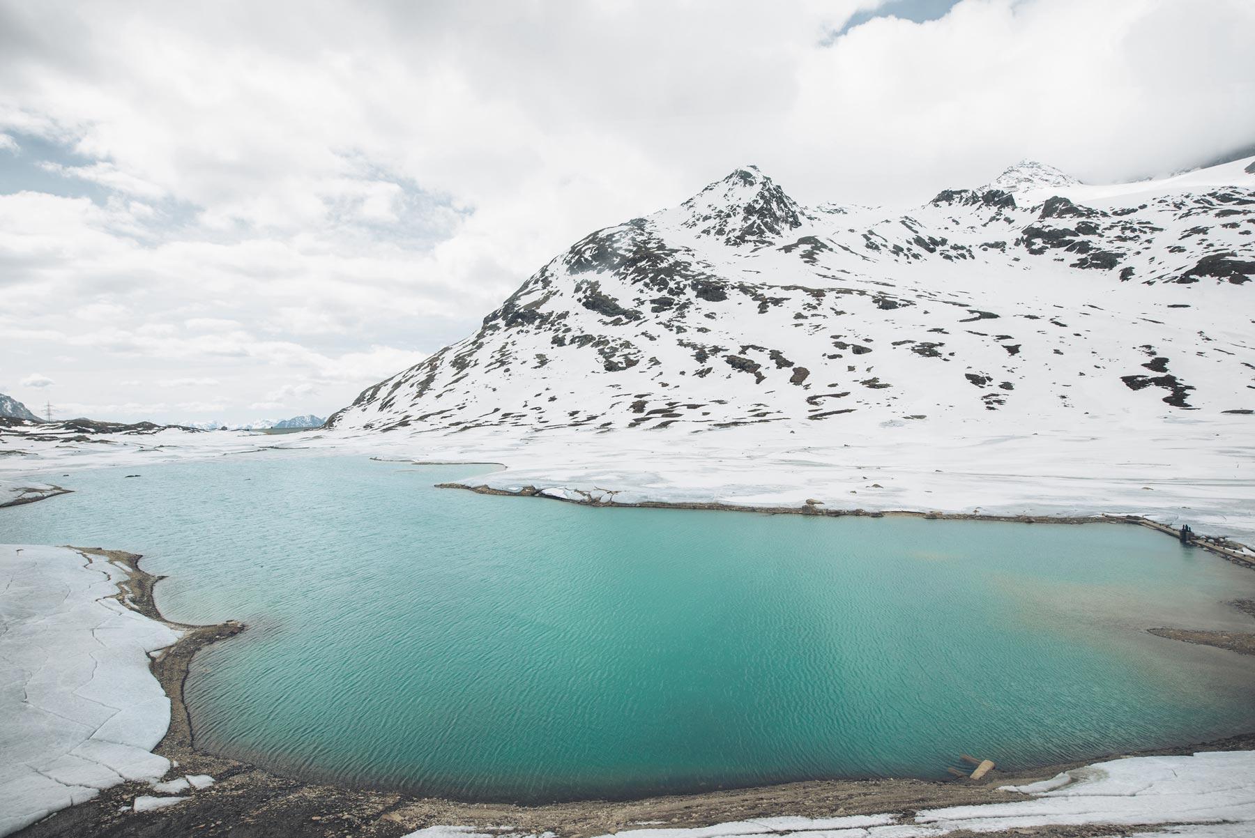 Lago Bianco, Bernina Express, Suisse