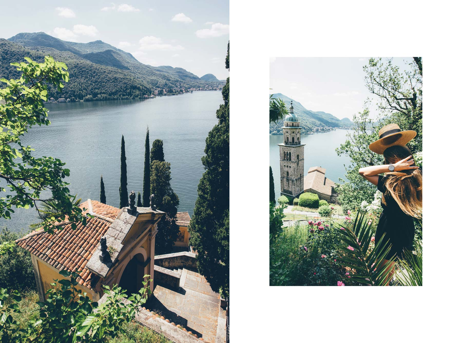 Plus beau village de Suisse: Morcote