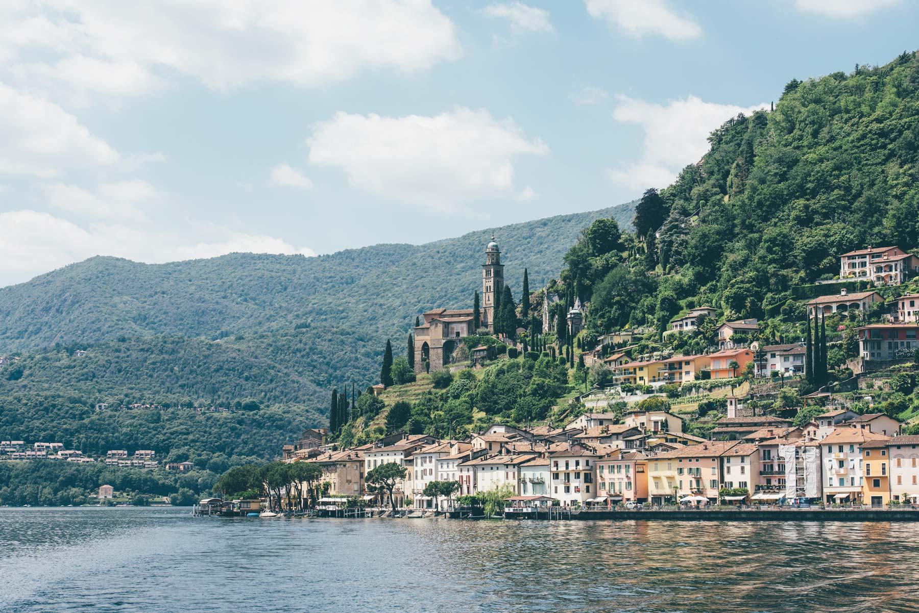 Morcote, Village typique près de Lugano