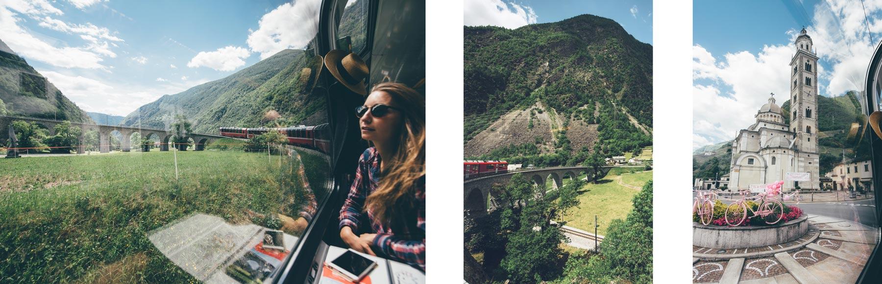 Les belles vues du Bernina Express