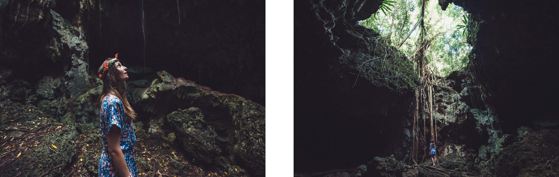 Grotte de la Reine Hortense, Ile des Pins, Nouvelle Calédonie