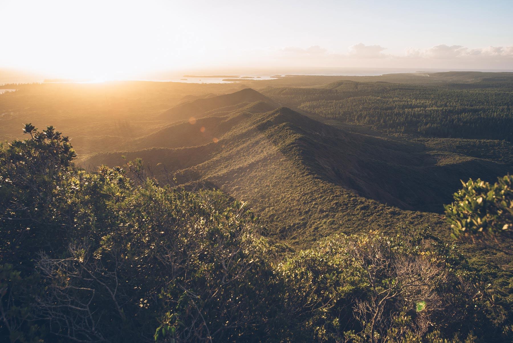 Randonée Pic N'Ga, Ile des Pins, Nouvelle Calédonie