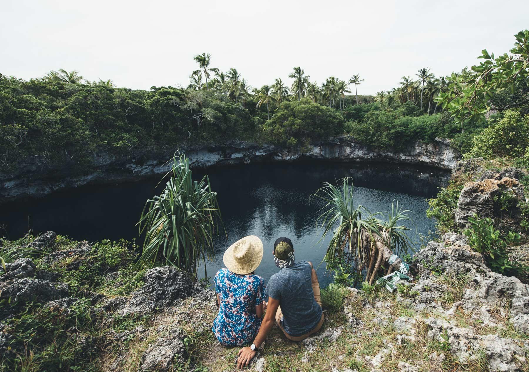Trou Bleu, Ouvéa, Nouvelle Calédonie