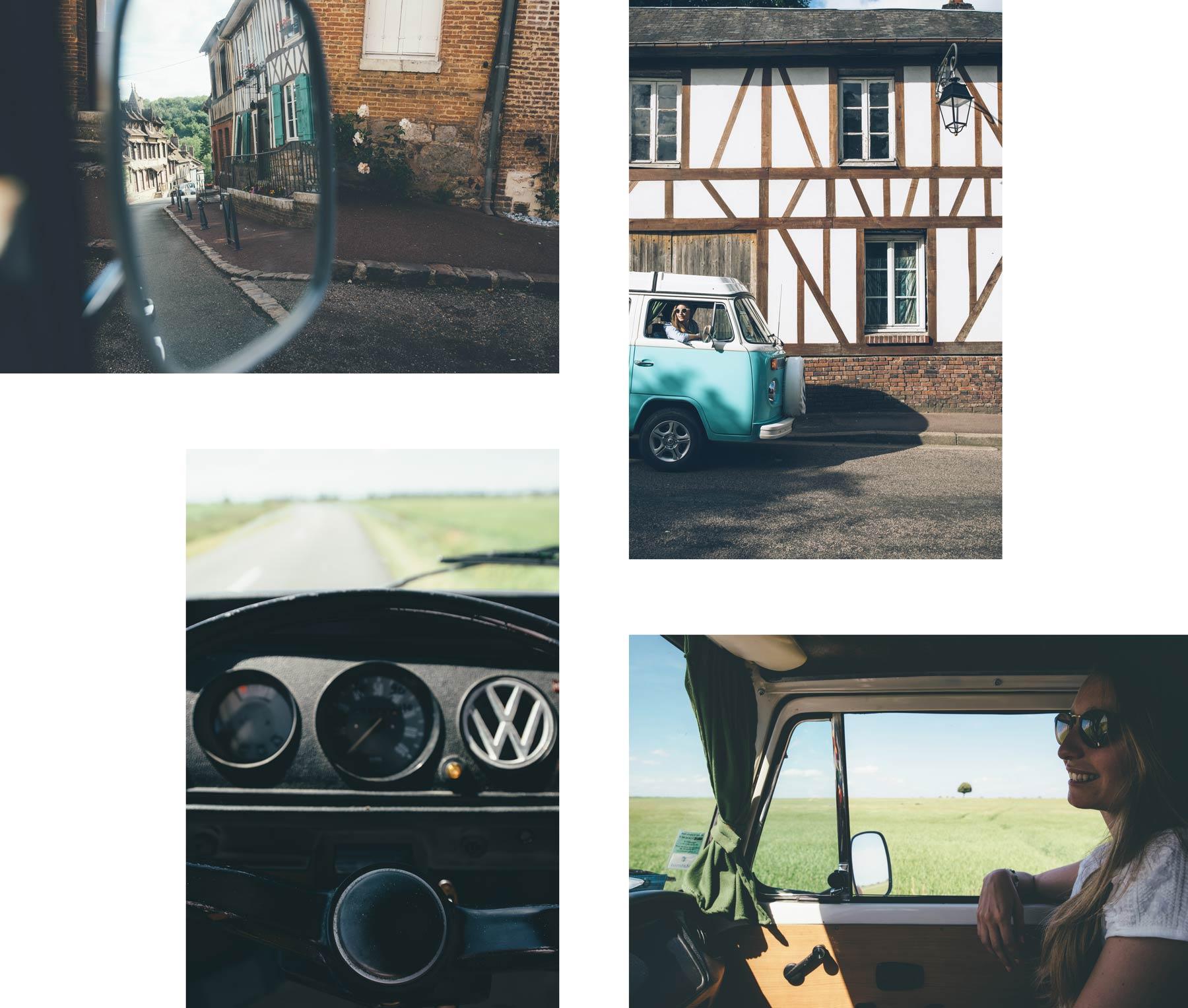 Visiter la Normandie en Van Volskwagen, un vrai bonheur