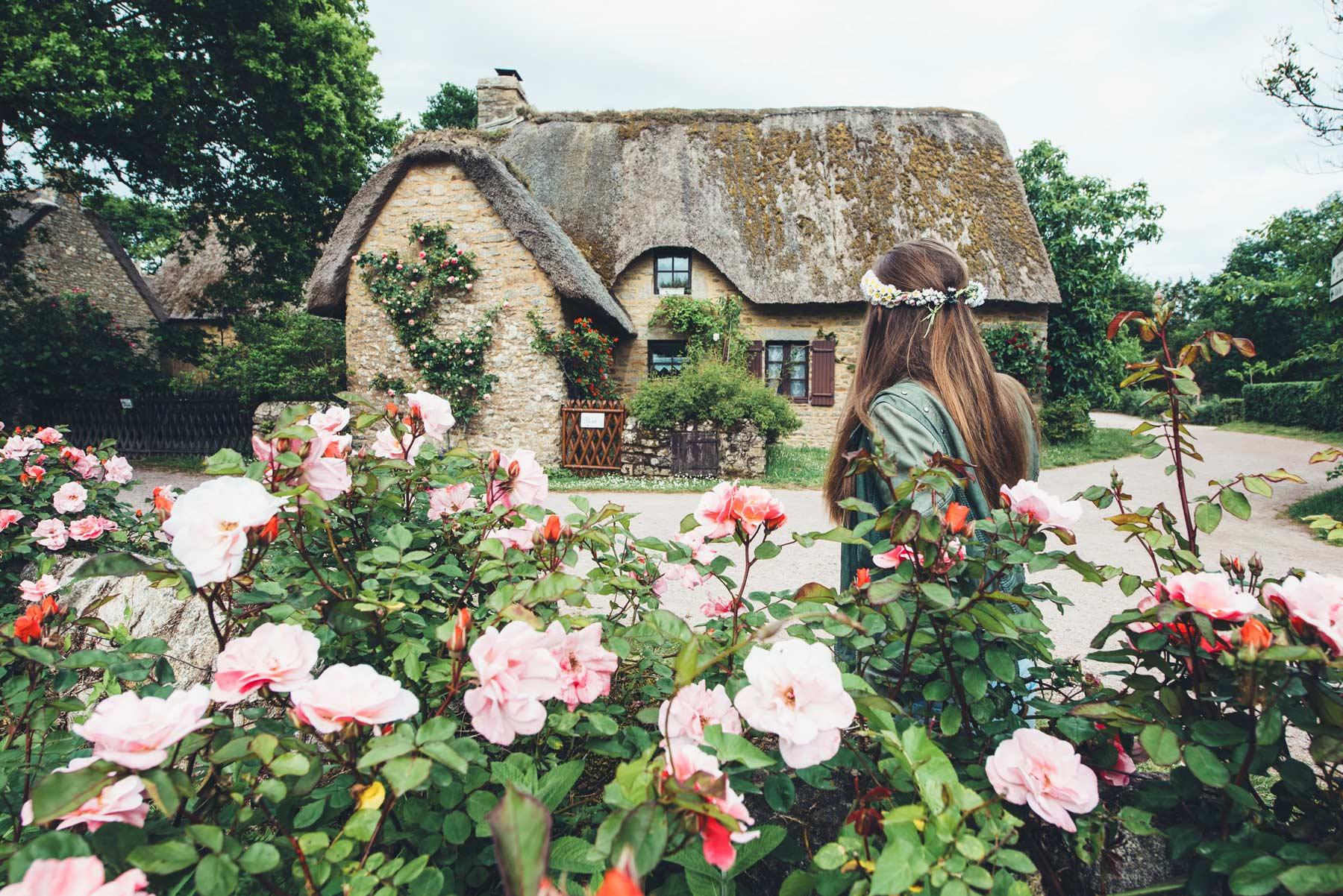 Village de Kerhinet et ses chaumières, Loire Atlantique