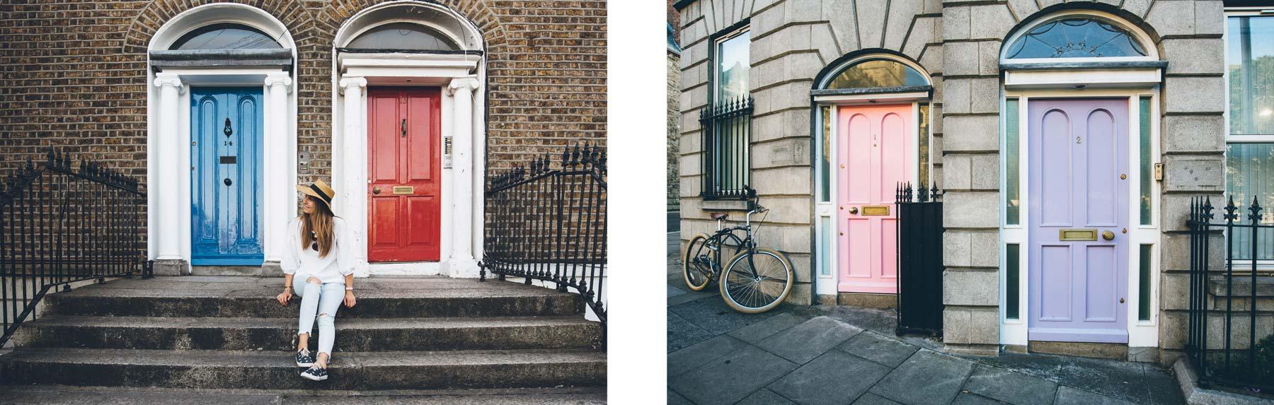 Portes Colorées, Dublin