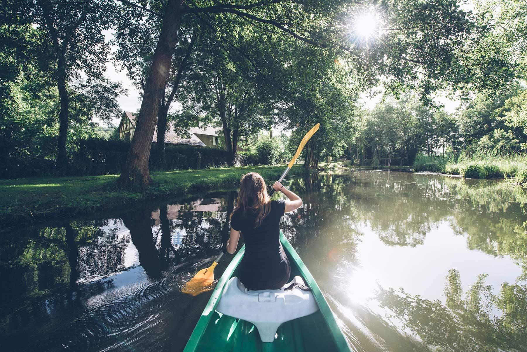 Canoe en Normandie, le Bonheur