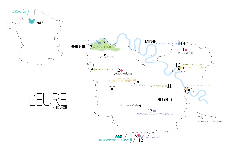 Pour Telecharger La Carte De LEure By Bestjobers