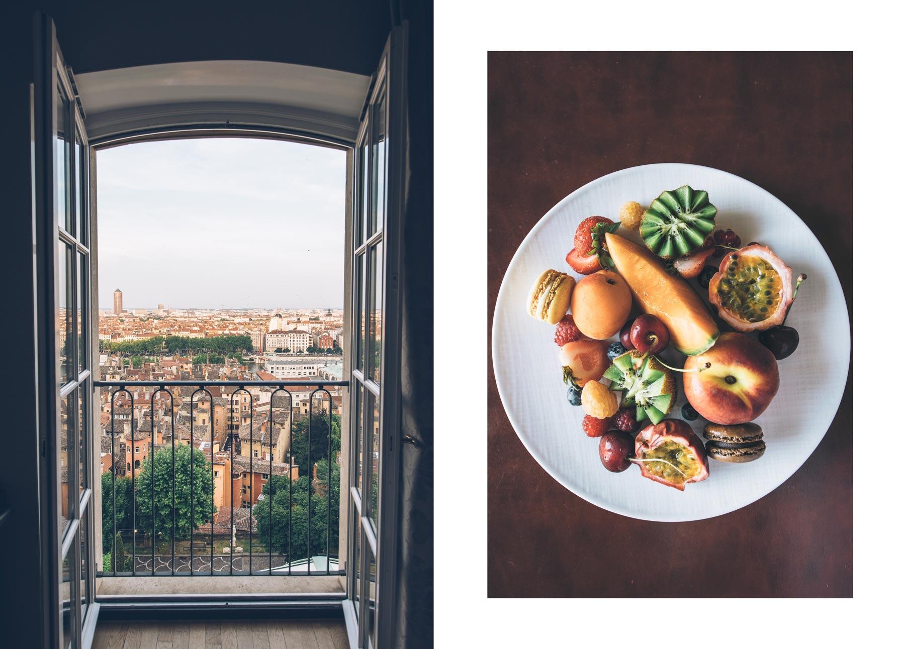 Hotel avec vue, Lyon: La Villa Florentine