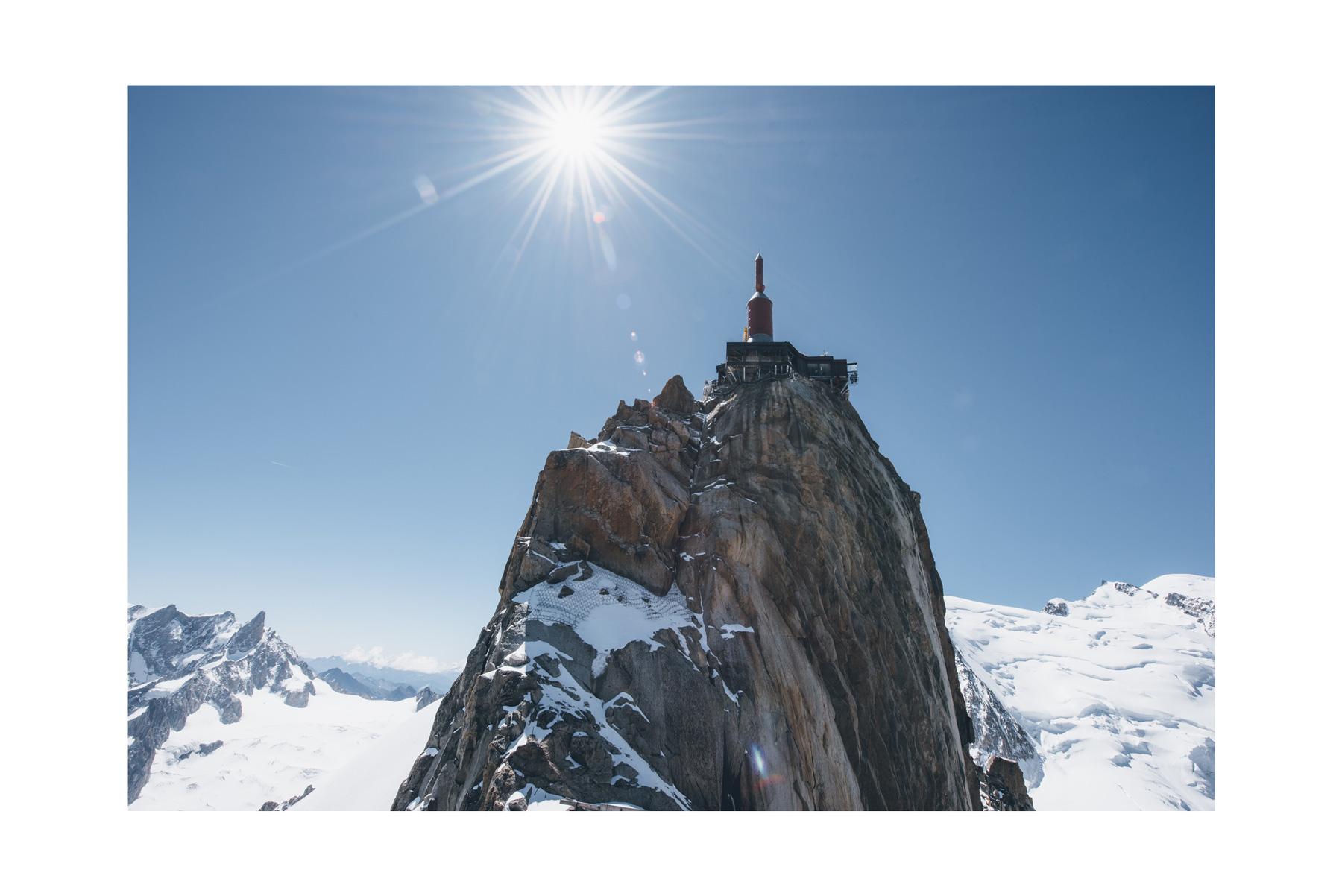 Aiguille du Midi, Chamonix, Mont-Blanc