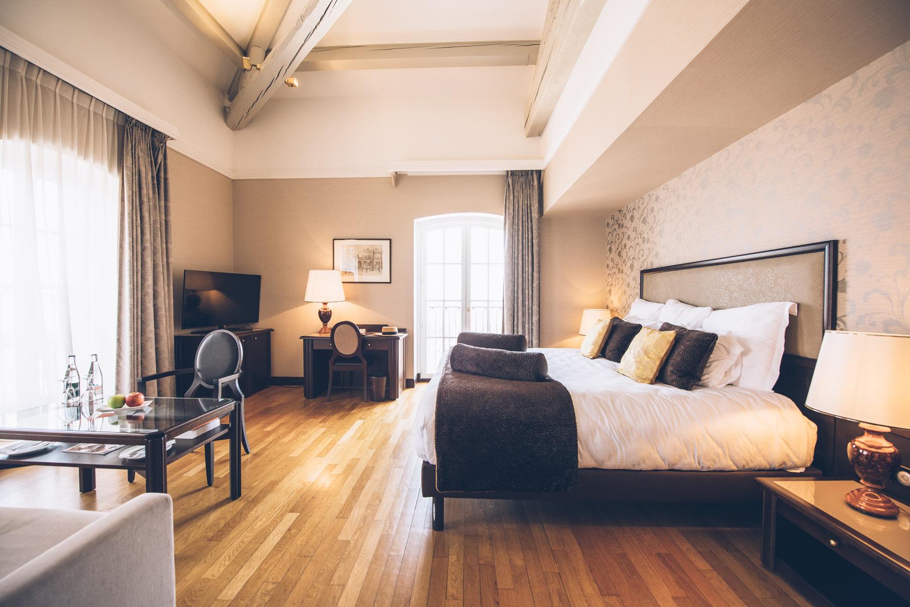 Chambre, Villa Florentine, Lyon