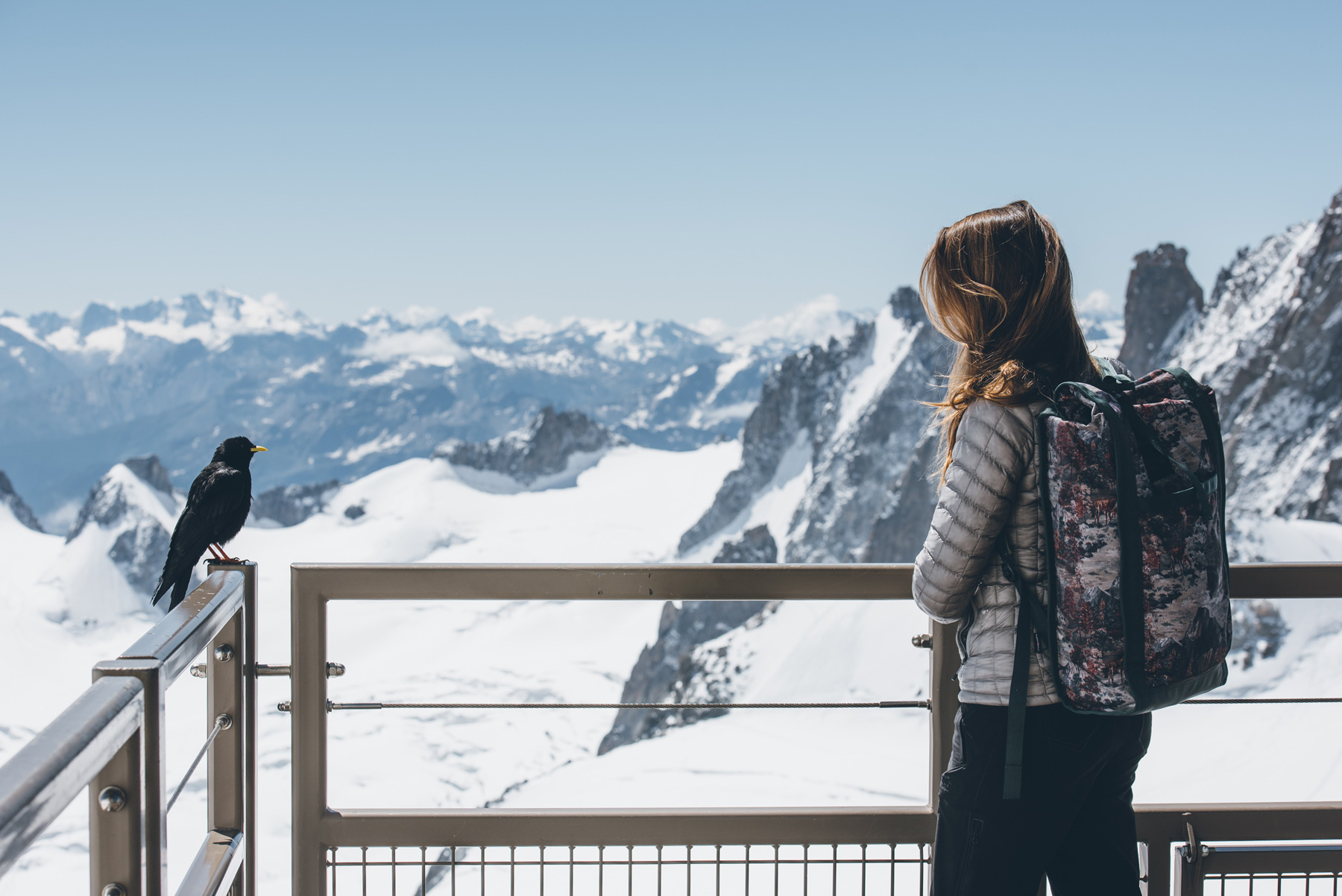 Rencontre à l'Aiguille du Midi, Chamonix