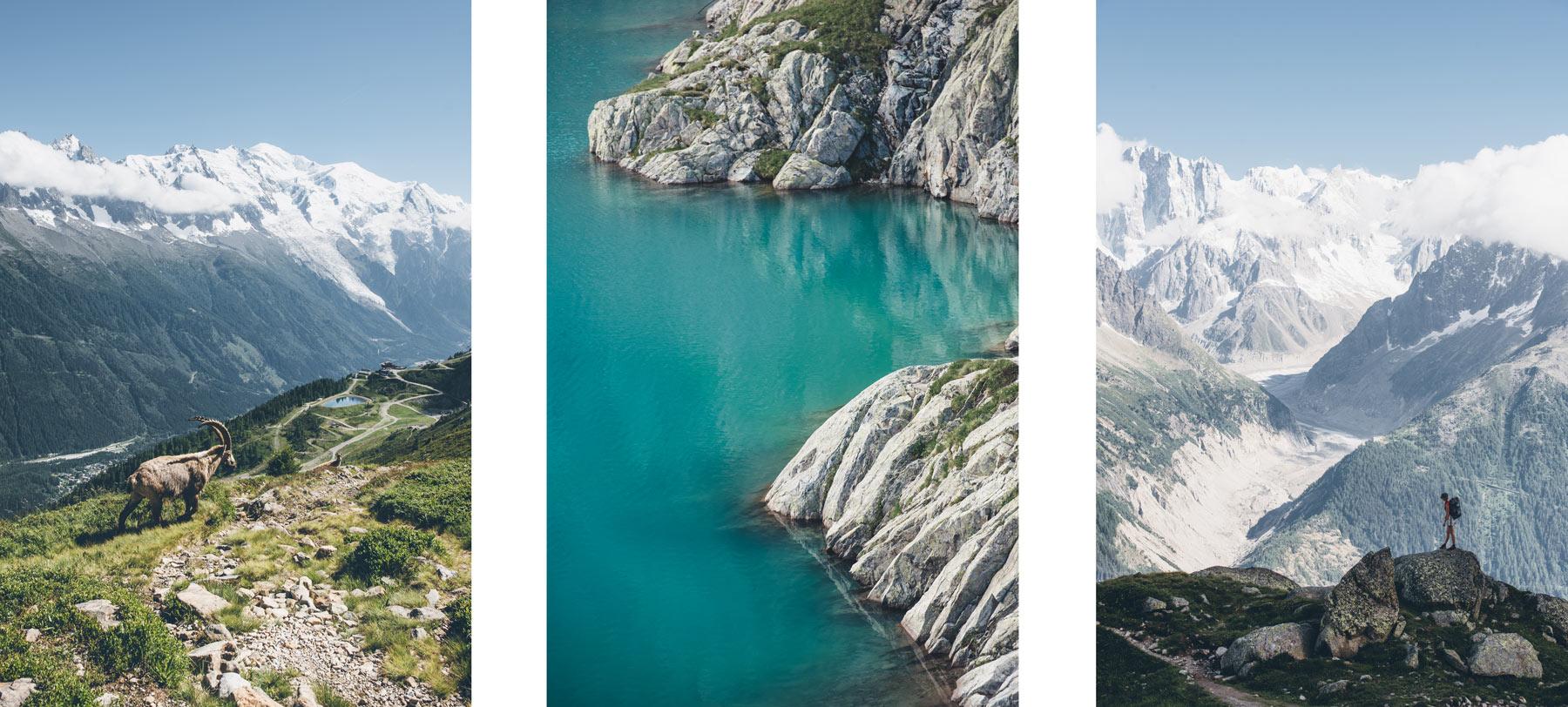 Randonnée du Lac Blanc, Chamonix