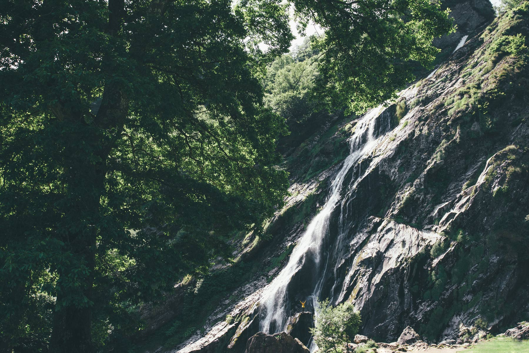 Powerscourt waterfall, irlande
