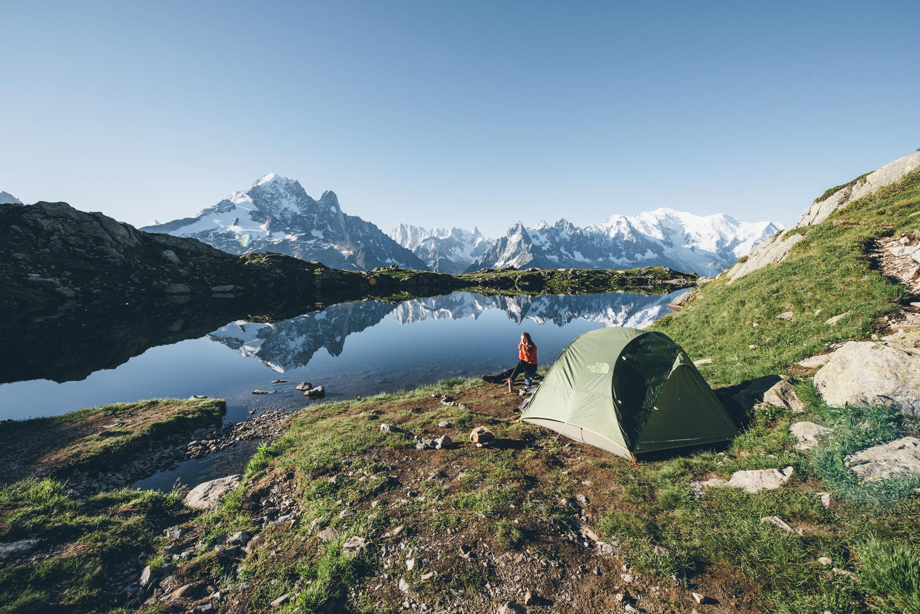 Ou faire un bivouac dans les Alpes? : Lac de Cheserys