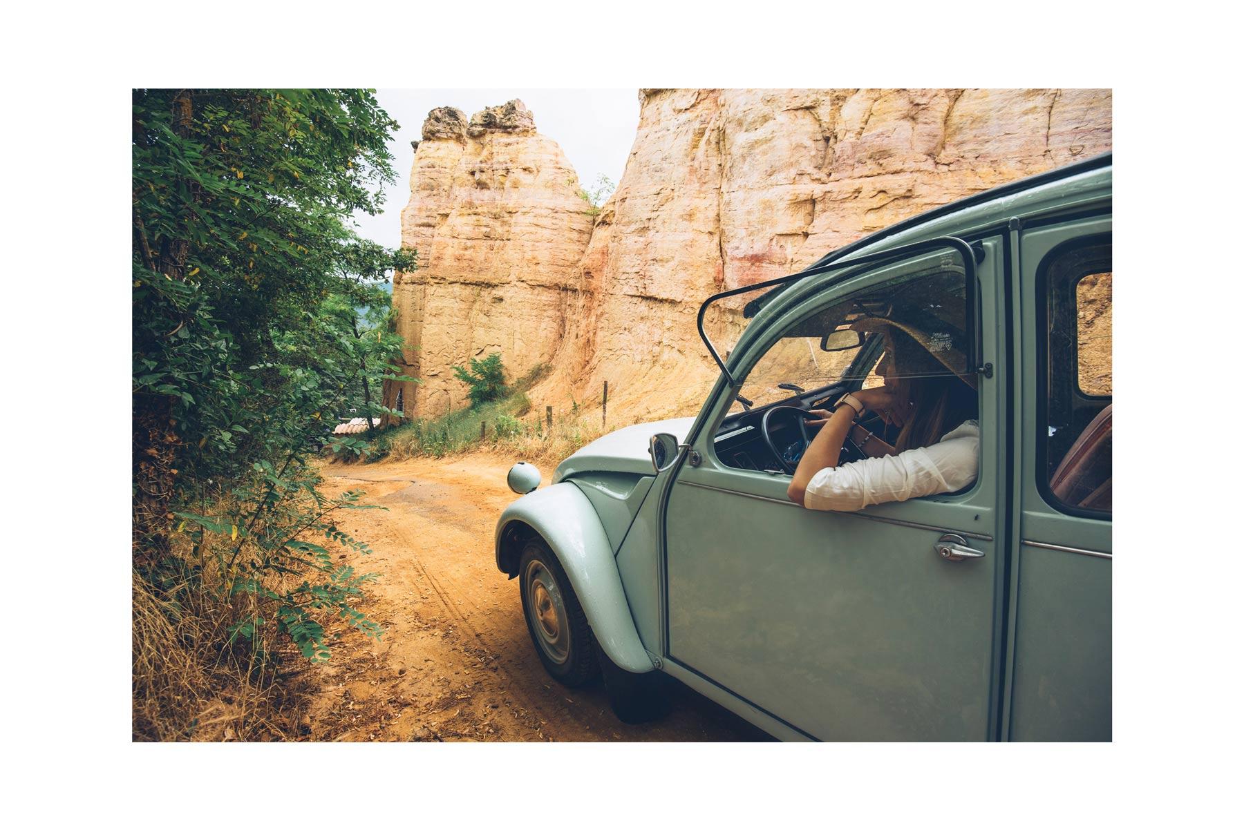 2cv en Provence dans le Colorado