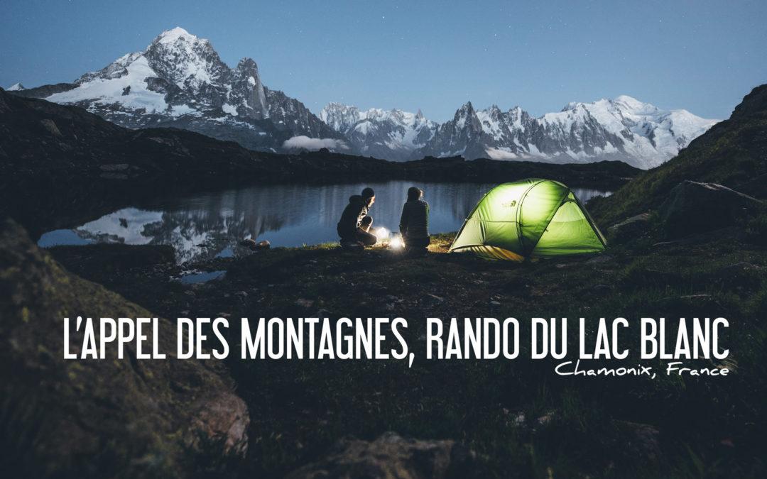 Randonnée et bivouac au Lac Blanc, Chamonix
