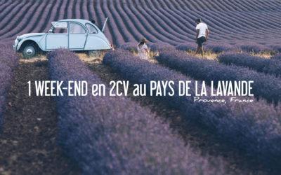FRANCE | UN WEEK-END EN PROVENCE EN 2CV AU PAYS DE LA LAVANDE