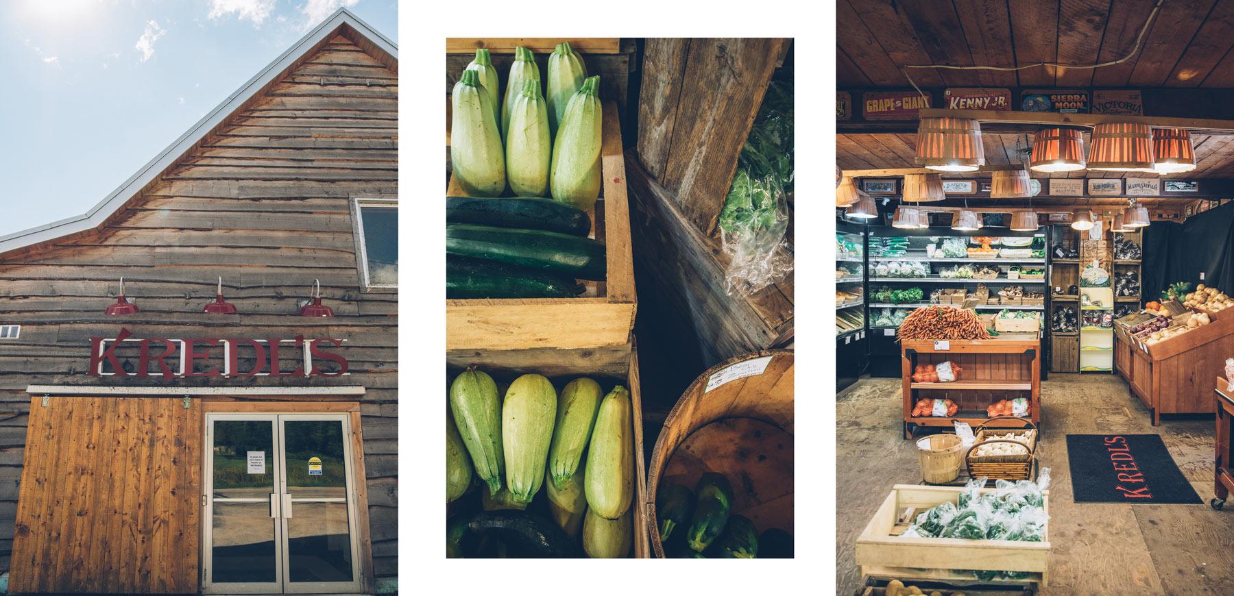Kredl's Market, Producteurs locaux Nouveau Brunswick, Canada