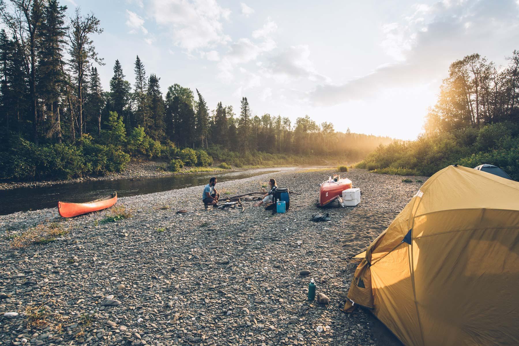 Canoe + Bivouac au Canada