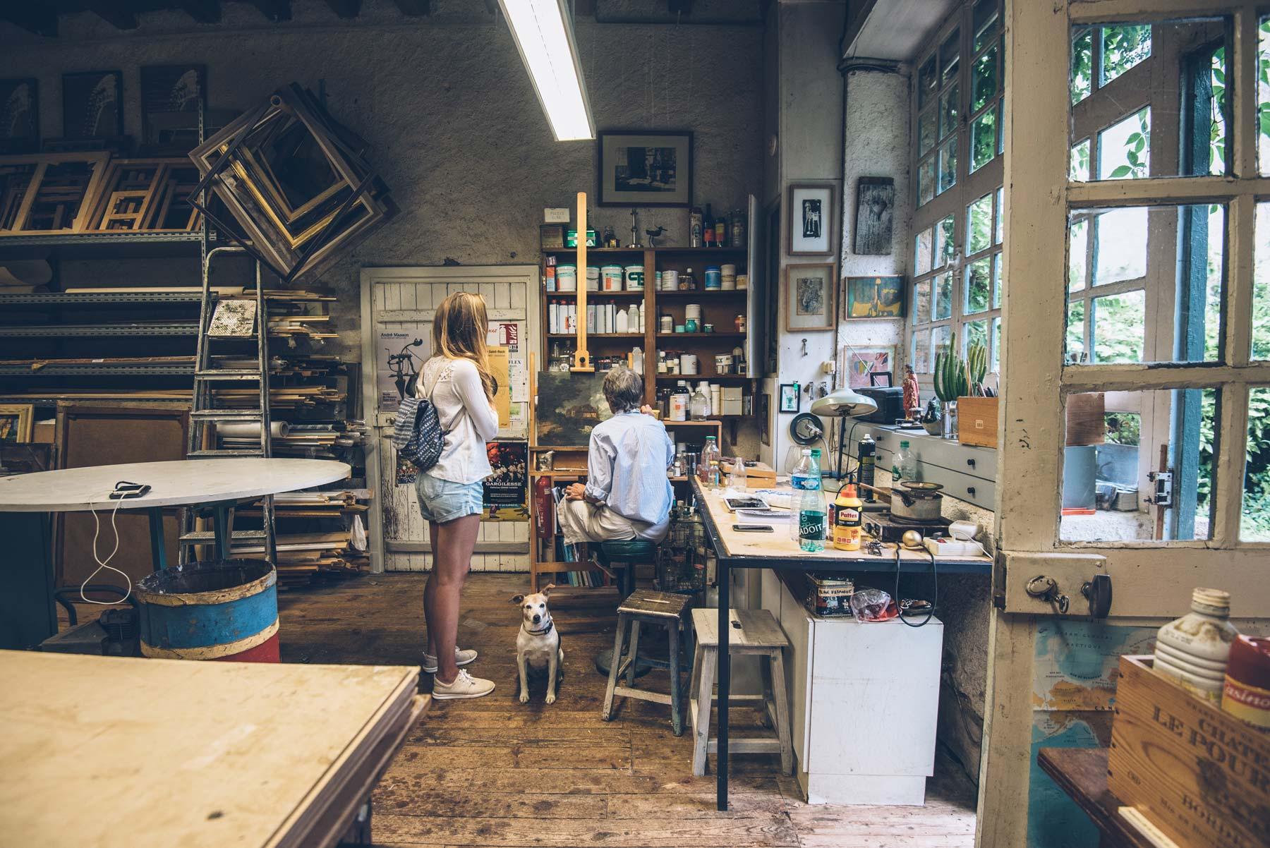 Rencontre avec Catherine, restauratrice d'art