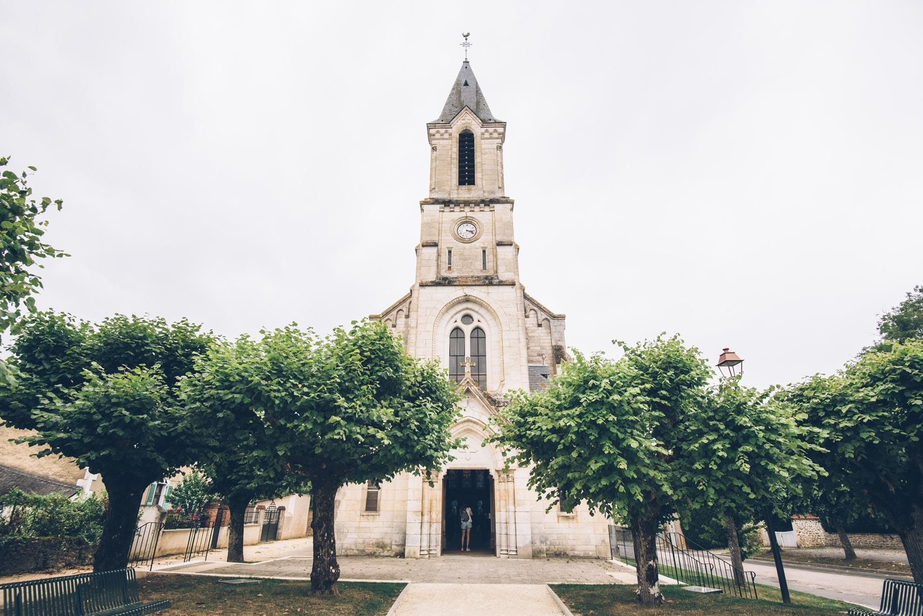 Eglise du Menoux, Berry Province