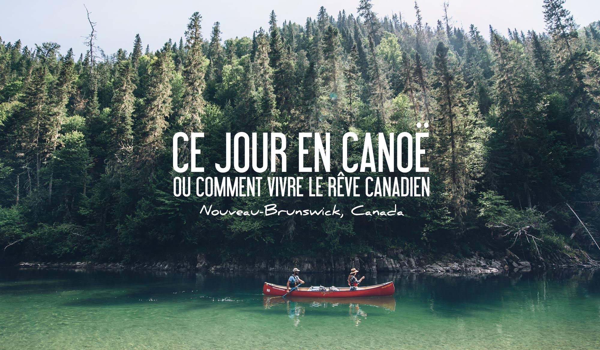 Canotage au Nouveau Brunswick, Canada