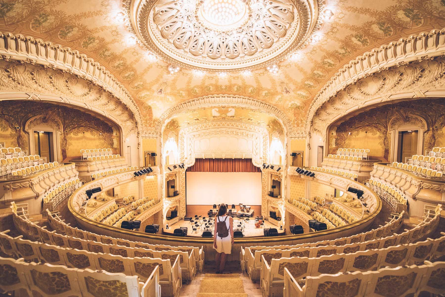 Opéra Art Nouveau, Vichy, France