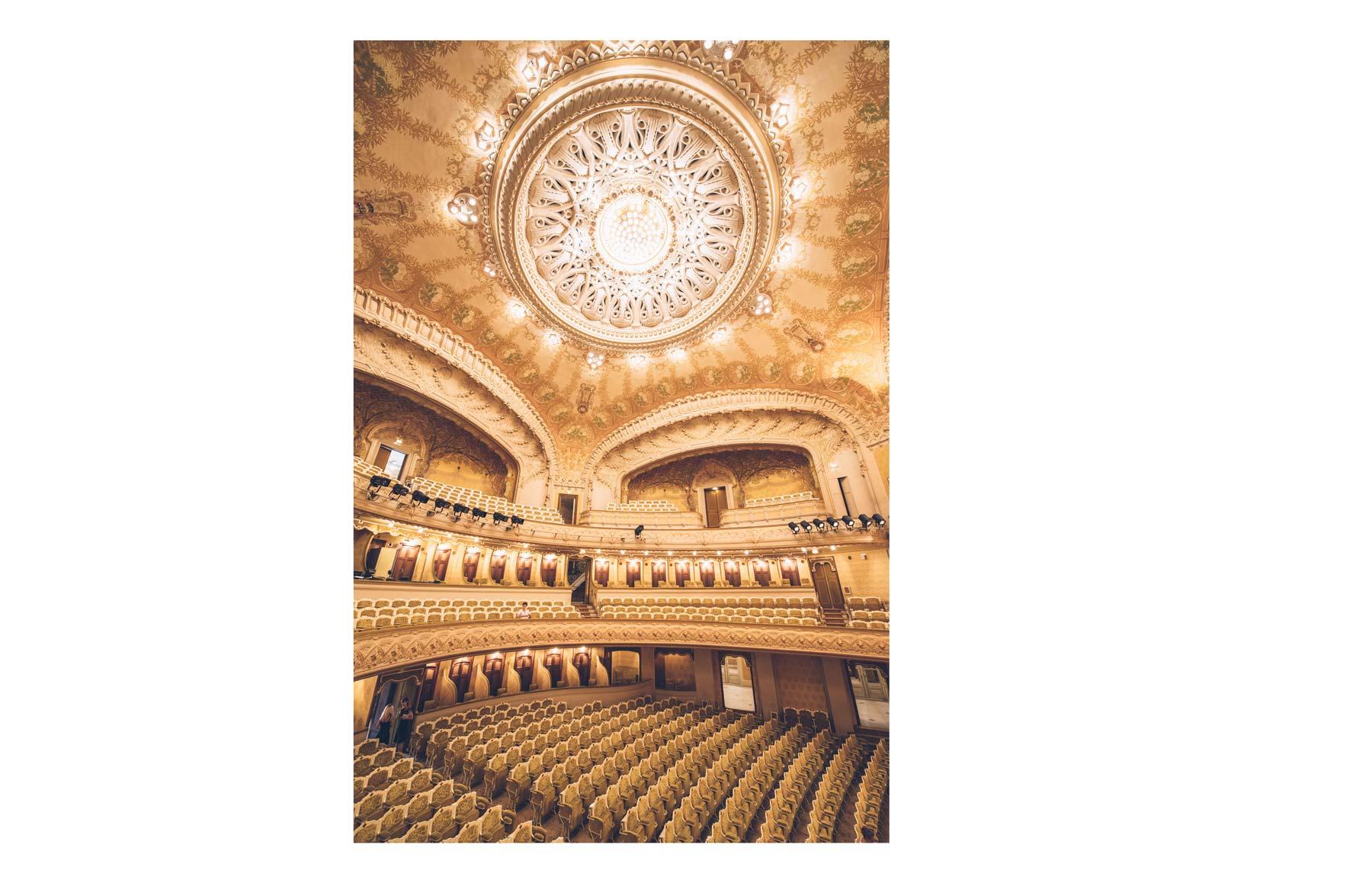 Style Art Nouveau, Opéra de Vichy