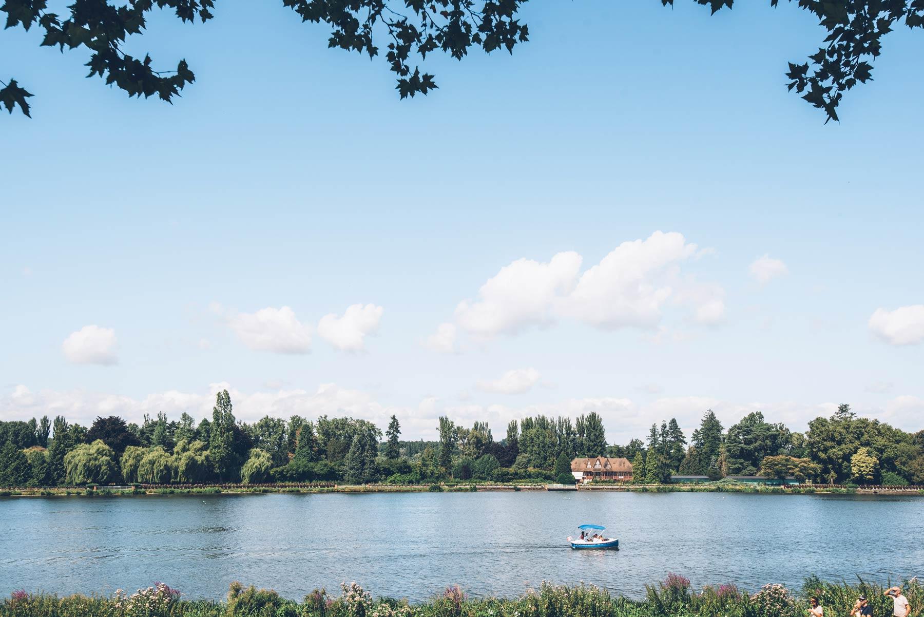 Une ville verte: Vichy