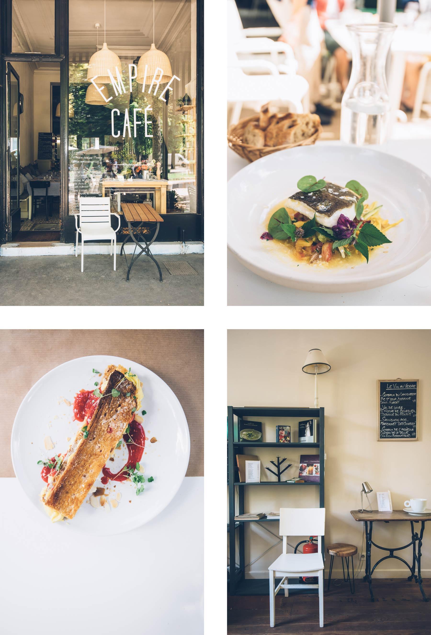 Bonne Adresse Resto à Vichy: L'Empire Cafe