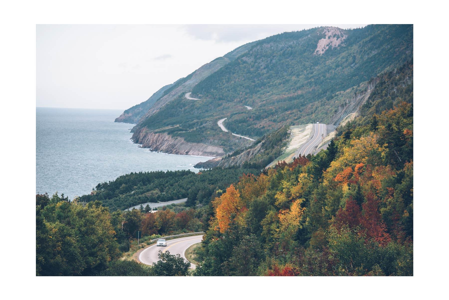 Cabot Trail, Nova Scotia, Canada