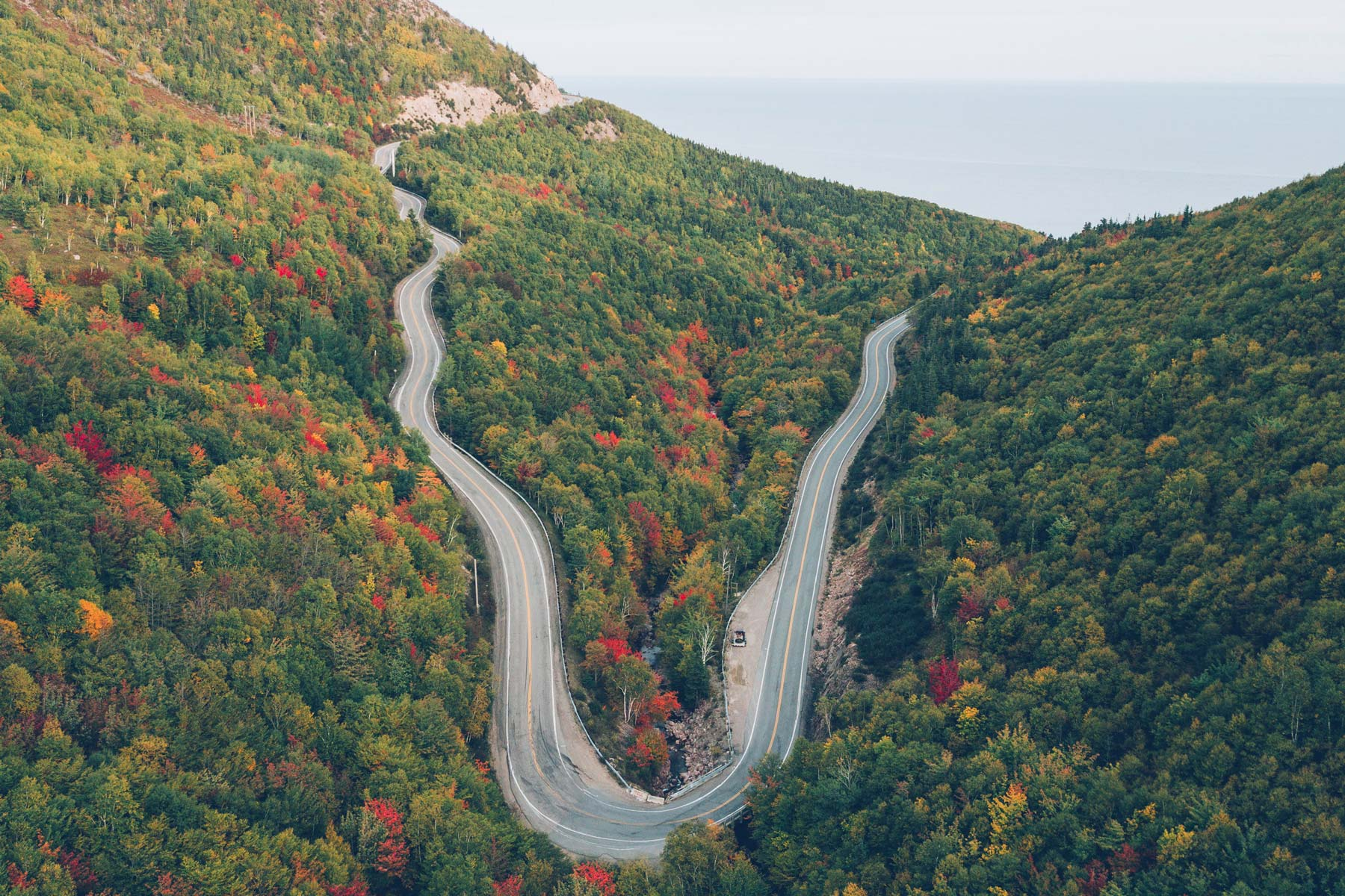 Cabot Trail Canada, Route panoramique