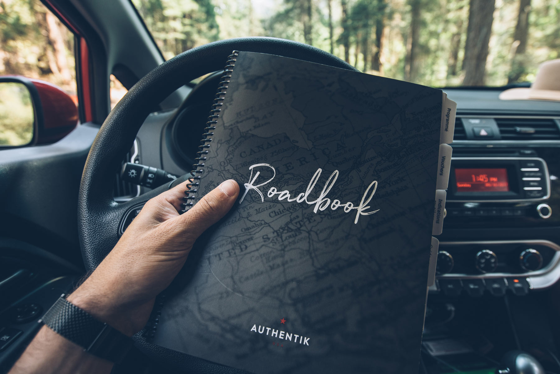 Road Book Authentik USA