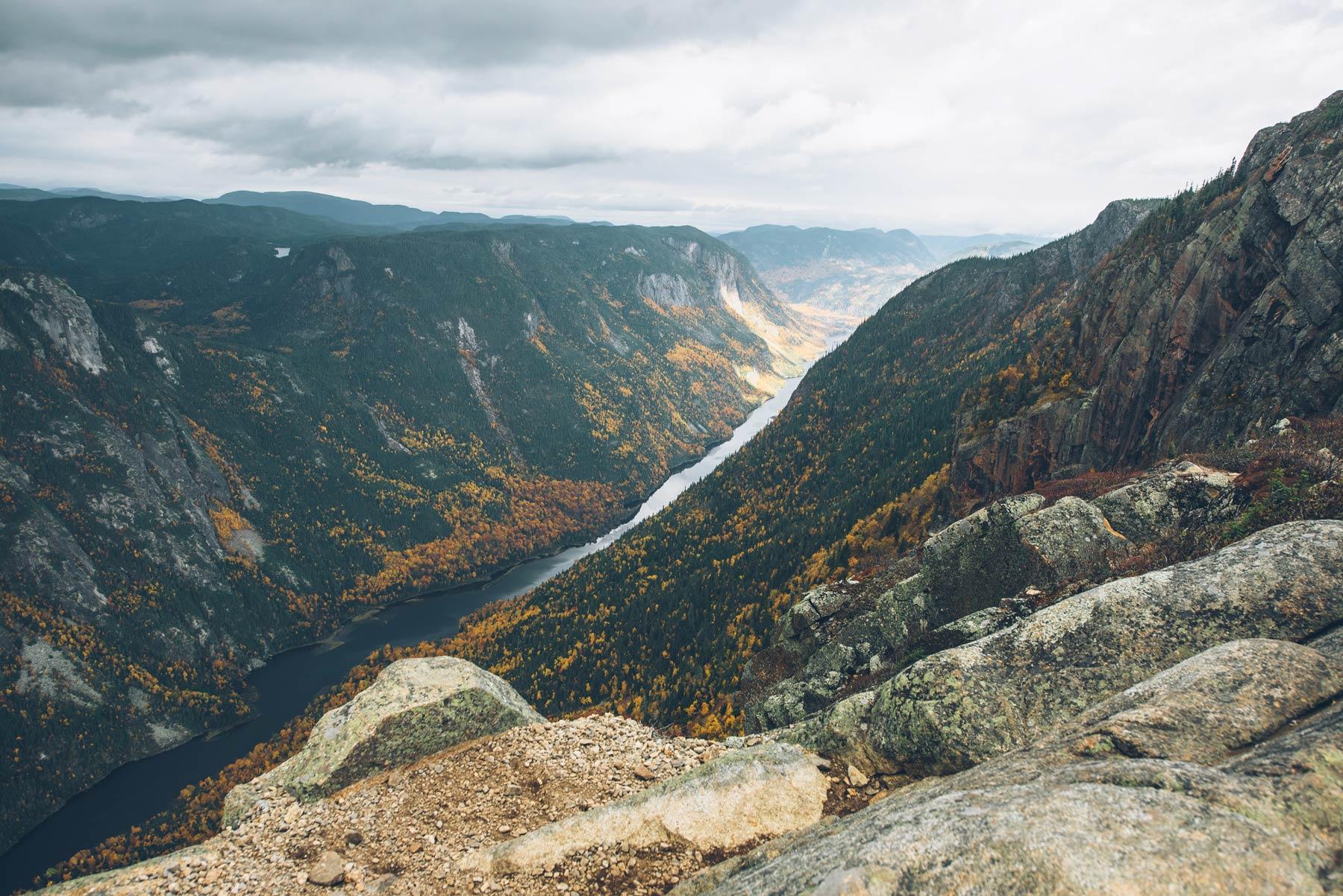 Parc des Hautes Gorges, Québec