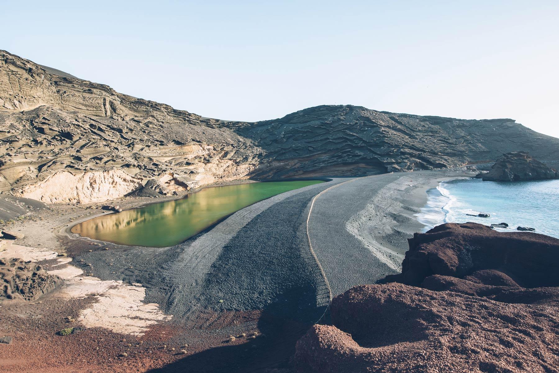 Lac Vert Lanzarote