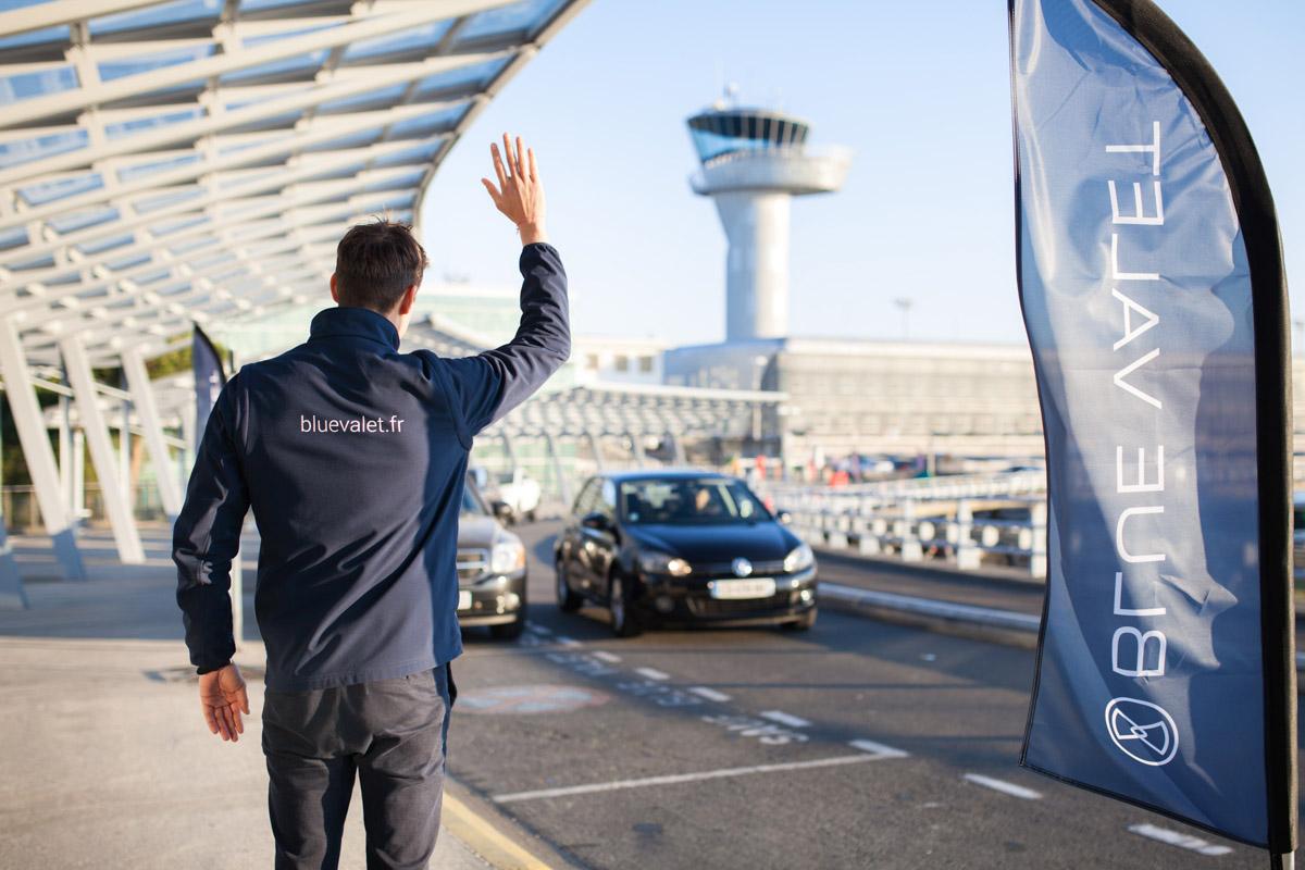 Blue Valet Service Voiturier Aéroport