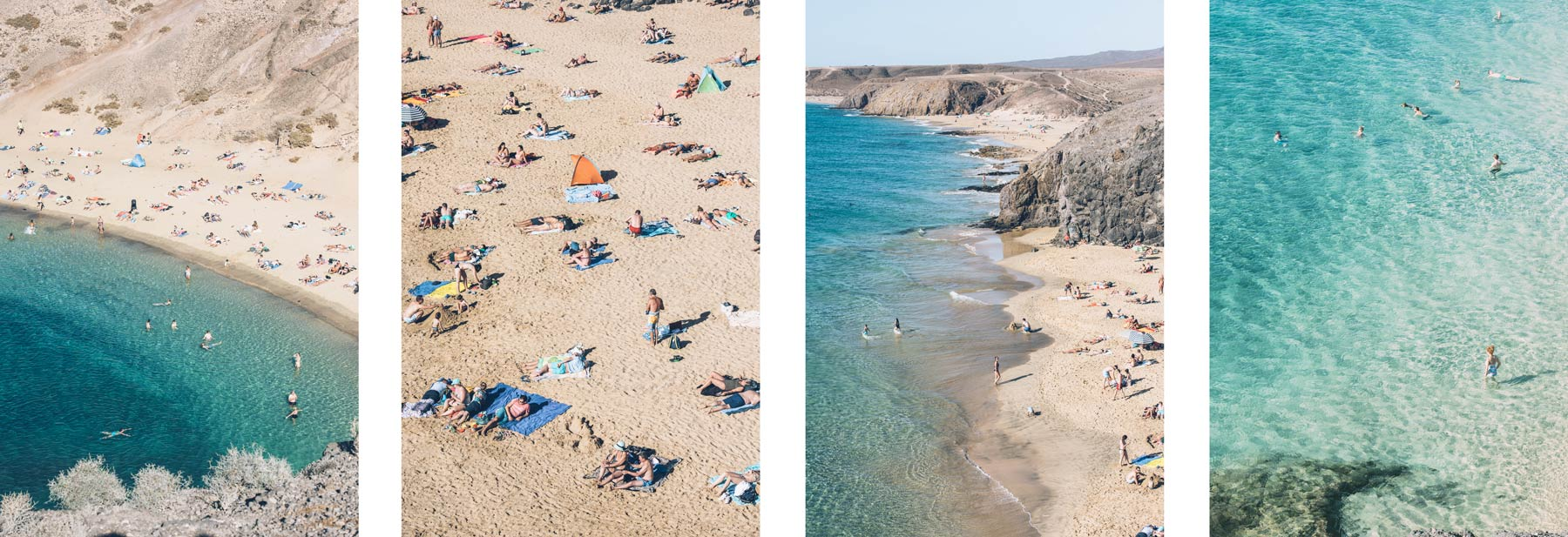 Plage Turquoise Lanzarote: Papagayo