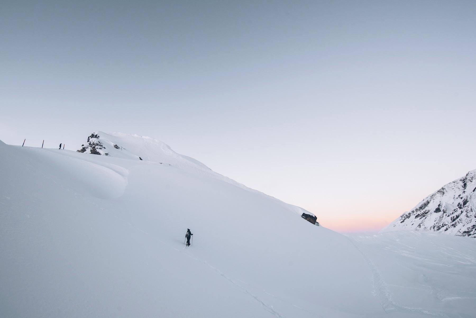 Ski de rando, Avoriaz