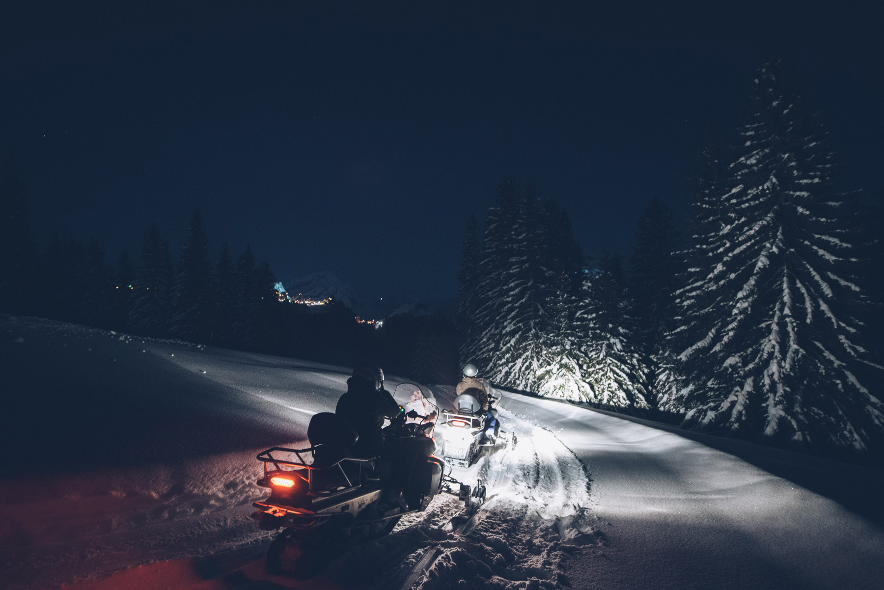 Avoriaz: Faire de la Moto neige